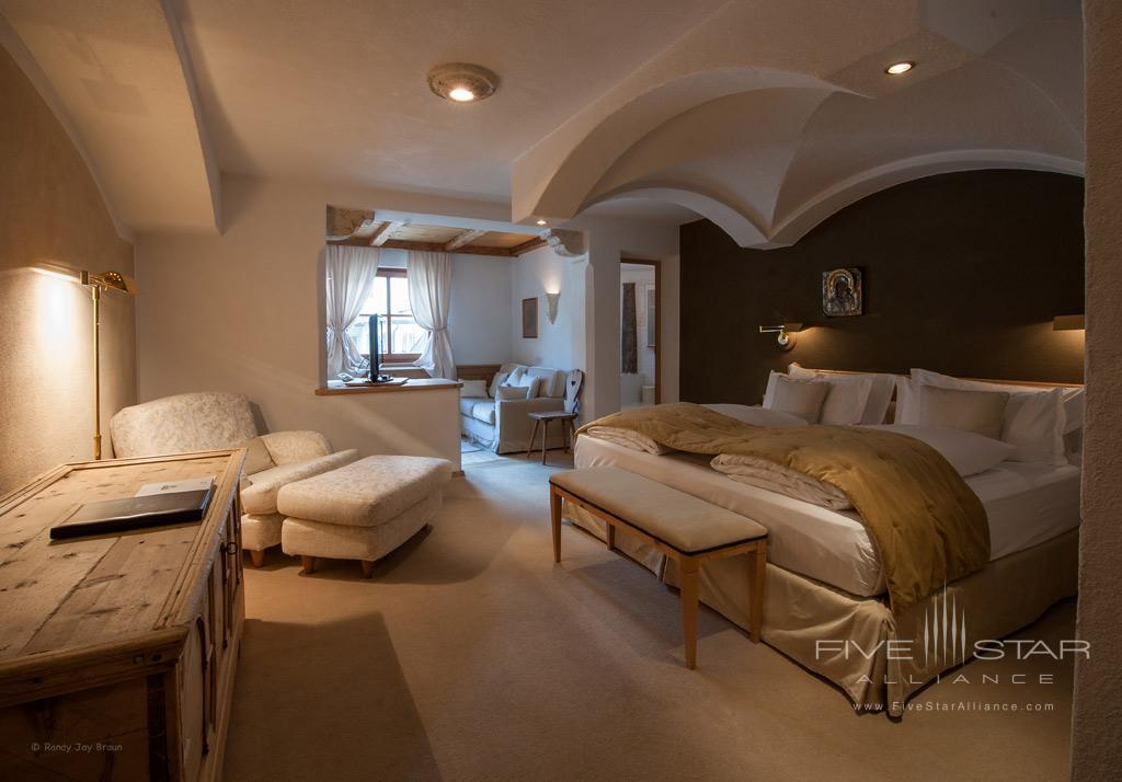 Junior Suite at Rosa Alpina, Badia BZ, Italy