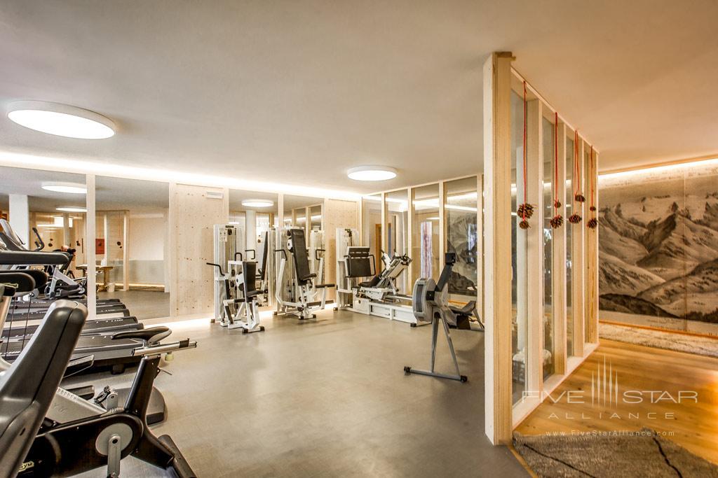 Gym at Rosa Alpina, Badia BZ, Italy