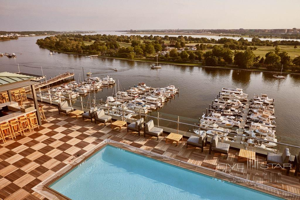 Rooftop Pool at the InterContinental Washington DC - The Wharf