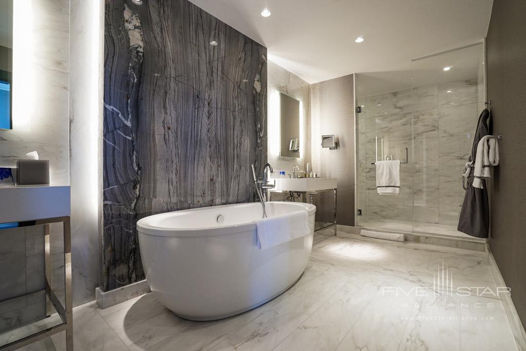 Guest Bath at InterContinental Washington D.C. The Wharf