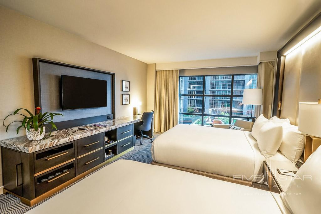 Double Guest Room at InterContinental Washington D.C. The Wharf