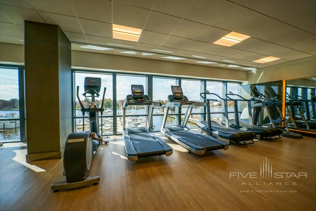Gym at InterContinental Washington D.C. The Wharf