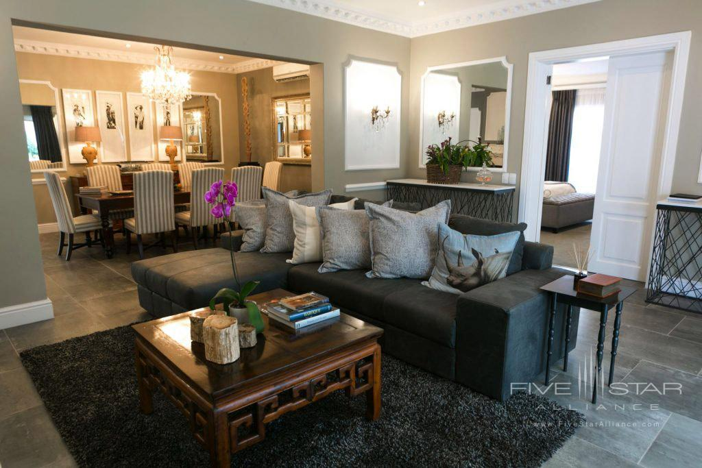 Suite Lounge at Fairlawns Boutique Hotel & Spa, Johannesburg, South Africa