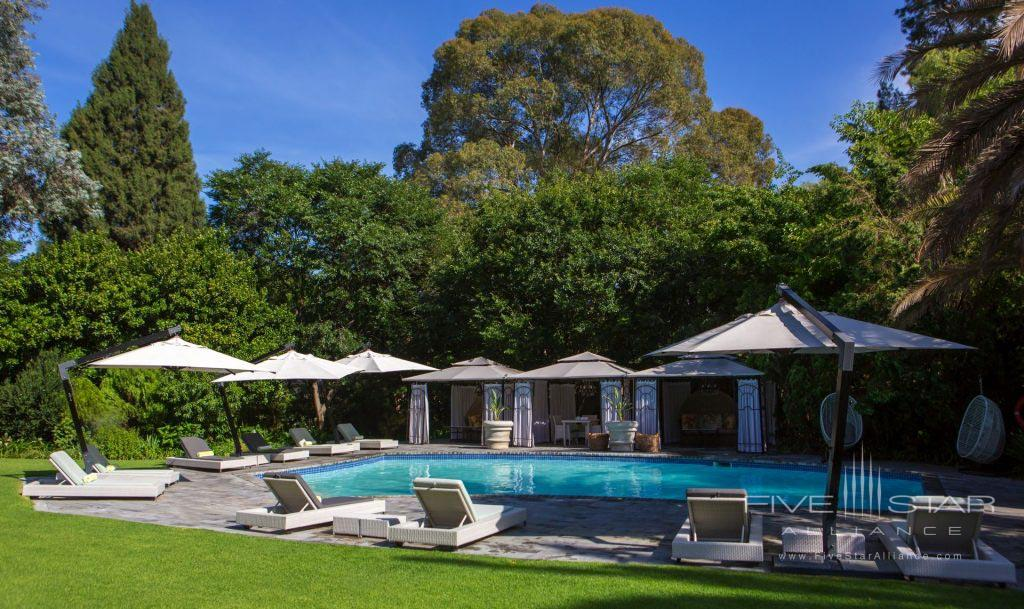 Outdoor Pool at Fairlawns Boutique Hotel & Spa, Johannesburg, South Africa
