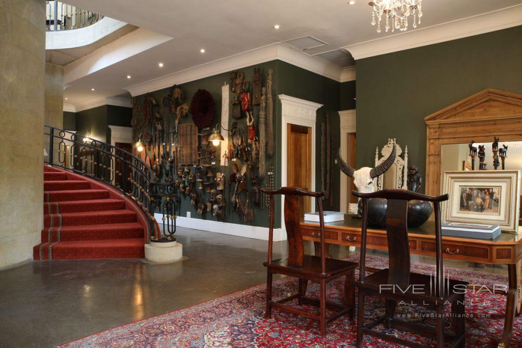 Lobby of Fairlawns Boutique Hotel & Spa, Johannesburg, South Africa