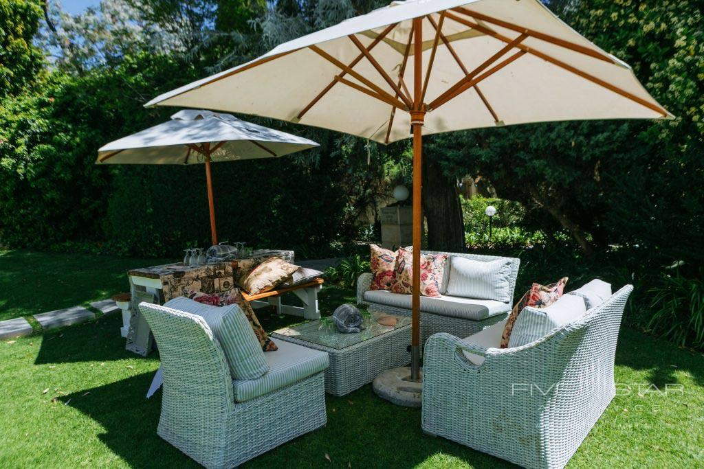 Outdoor Lounge at Fairlawns Boutique Hotel & Spa, Johannesburg, South Africa