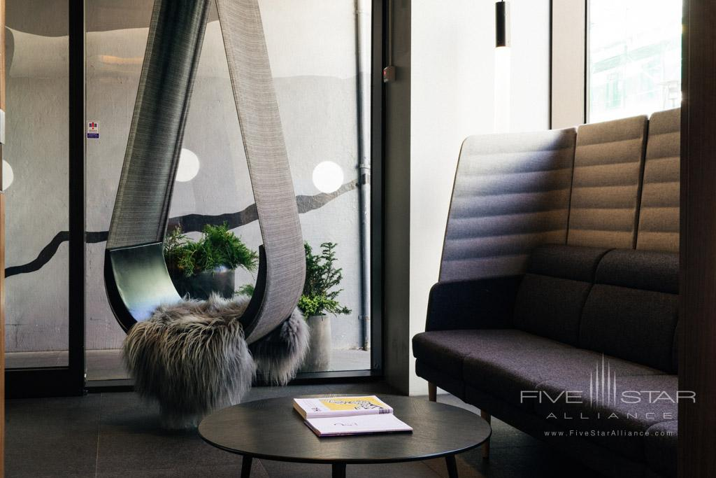 Lounge at ION City Hotel, Iceland
