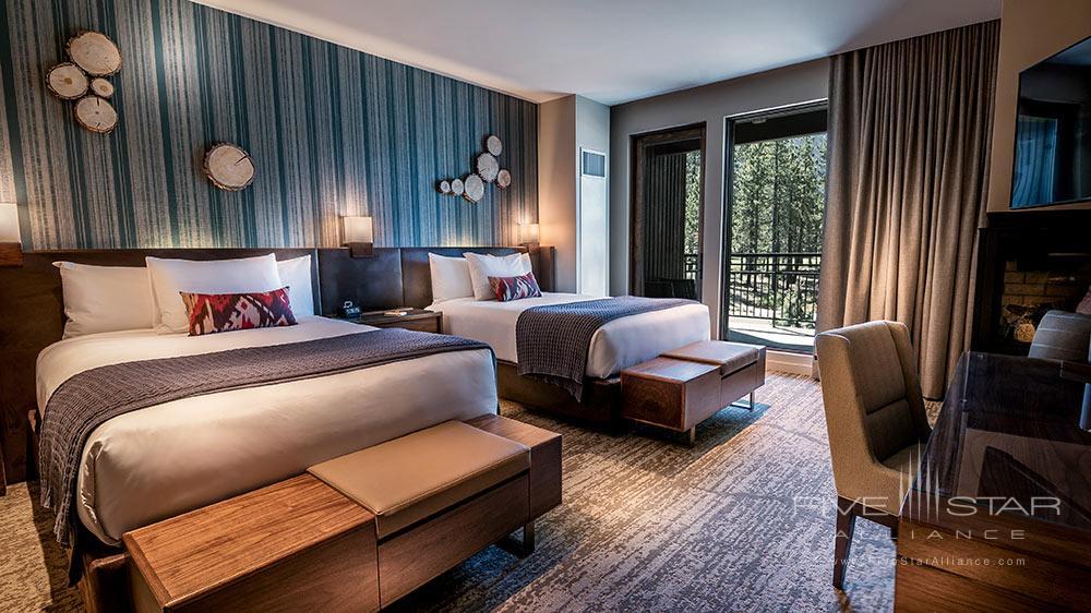 Double Queen Guest Room at Edgewood Tahoe, Lake Tahoe, NV