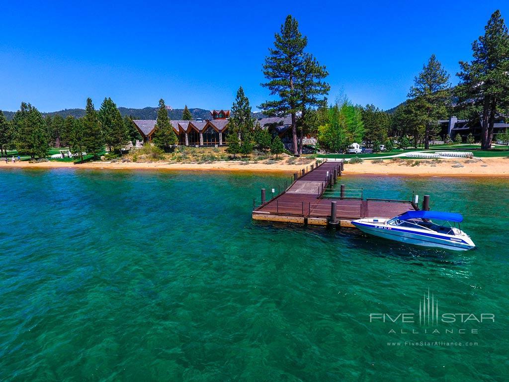 Docks at Edgewood Tahoe, Lake Tahoe, NV
