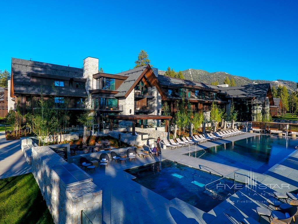 Outdoor Pool at Edgewood Tahoe, Lake Tahoe, NV