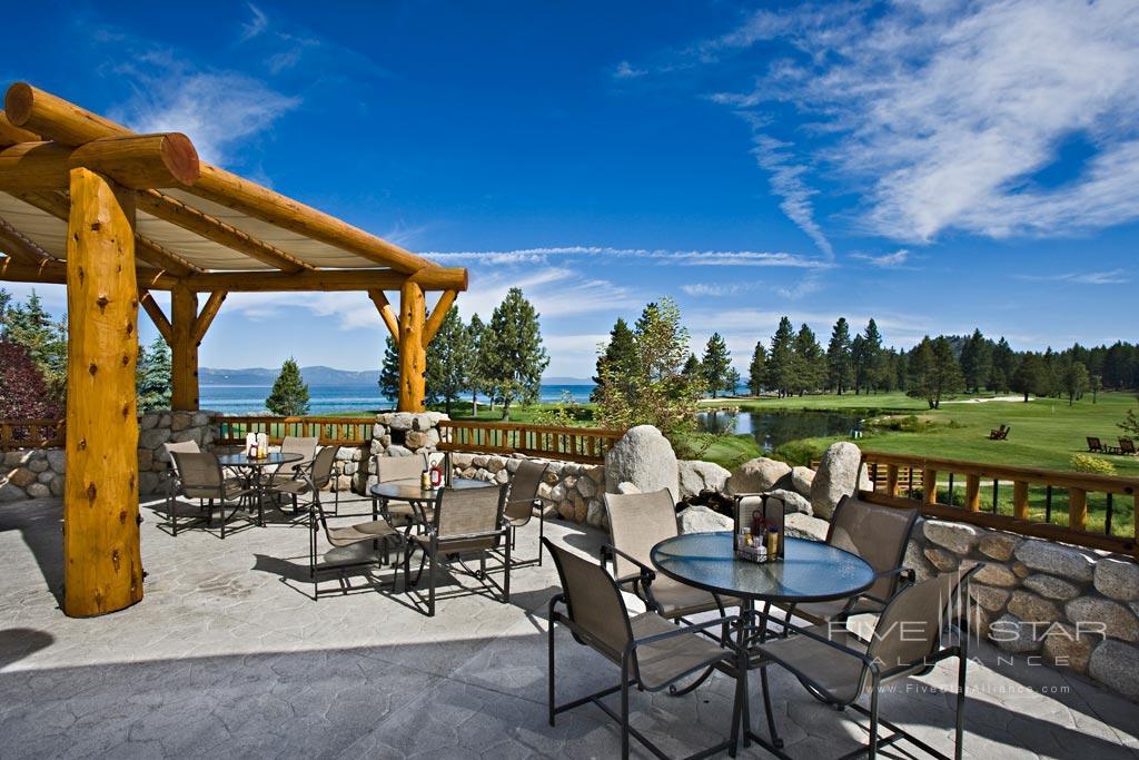Sports Deck at Edgewood Tahoe, Lake Tahoe, NV
