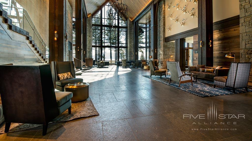 Lobby of Edgewood Tahoe, Lake Tahoe, NV