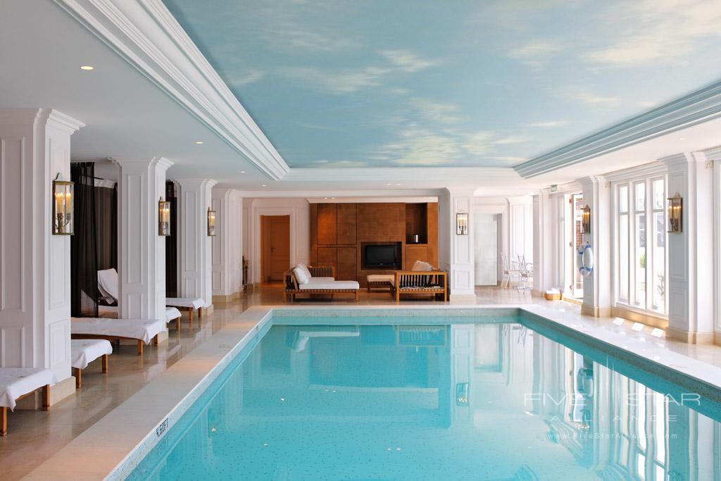 Indoor Pool at InterContinental Amstel Hotel, Amsterdam, Netherlands