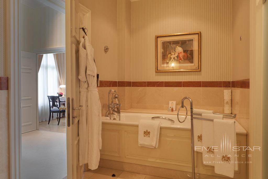Guest Bath at InterContinental Amstel Hotel, Amsterdam, Netherlands