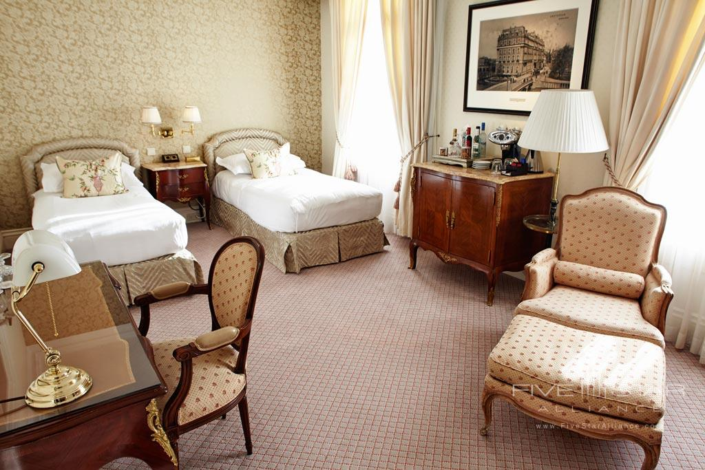 Double Guest Room at InterContinental Amstel Hotel, Amsterdam, Netherlands