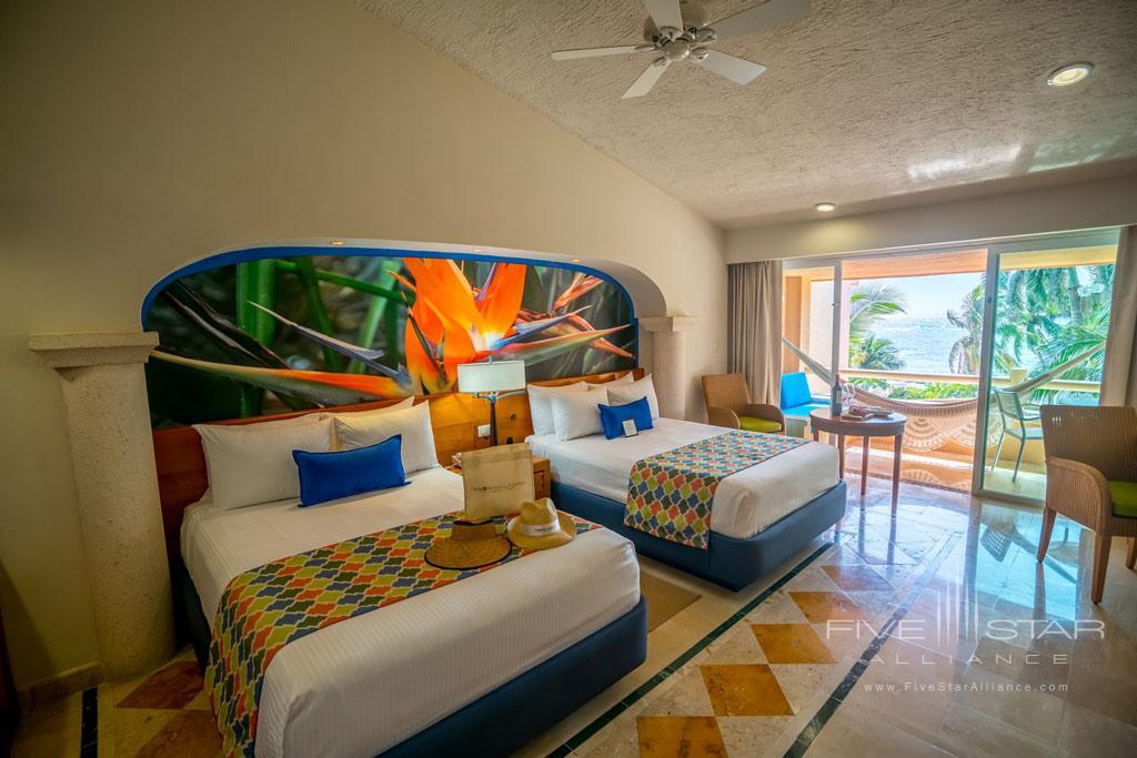 Double Guest Room at Omni Puerto Aventuras Beach Resort, Puerto Aventuras, QR, Mexico