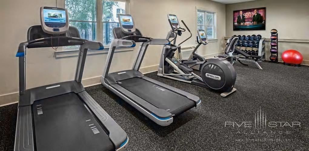 Fitness Center at The Partridge Inn, Augusta, GA