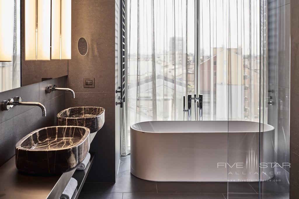 Executive Suite Bath at Hotel VIU Milan, Italy