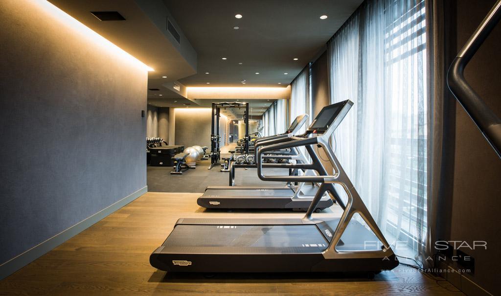 Gym at Hotel VIU Milan, Italy
