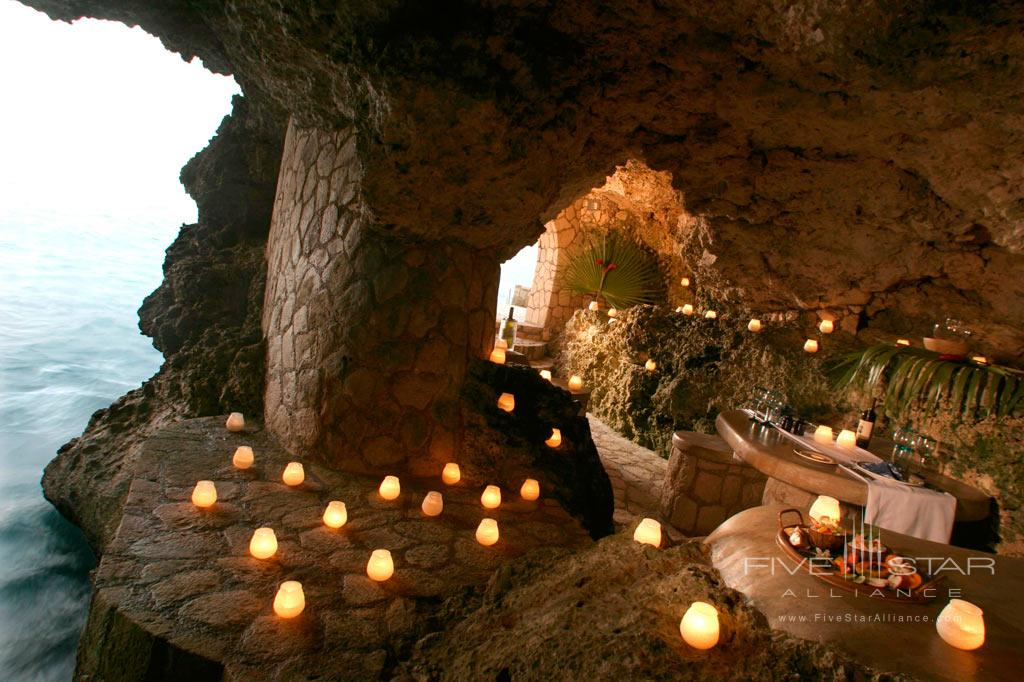 Dine at The Caves, Negril, Jamaica