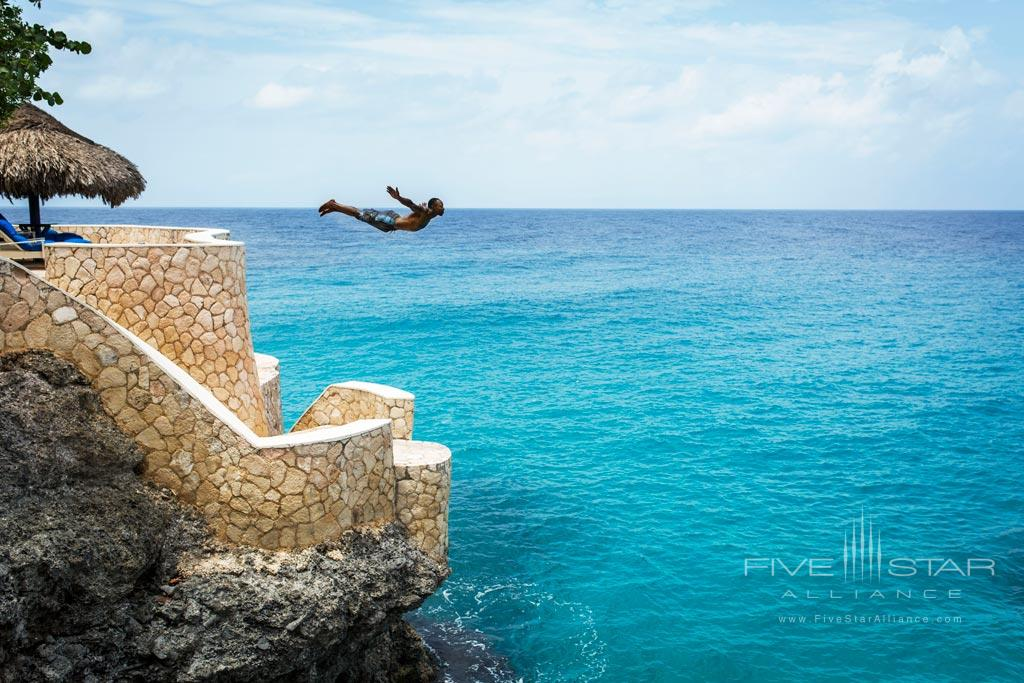 Diving Activity at The Caves, Negril, Jamaica