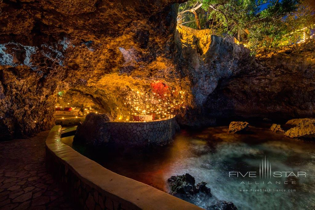 Cave Dining at The Caves, Negril, Jamaica