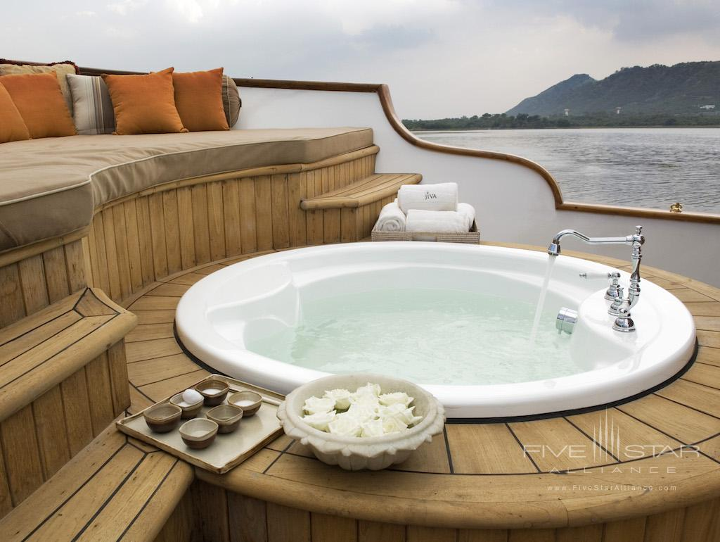 Spa Boat at Taj Lake Palace
