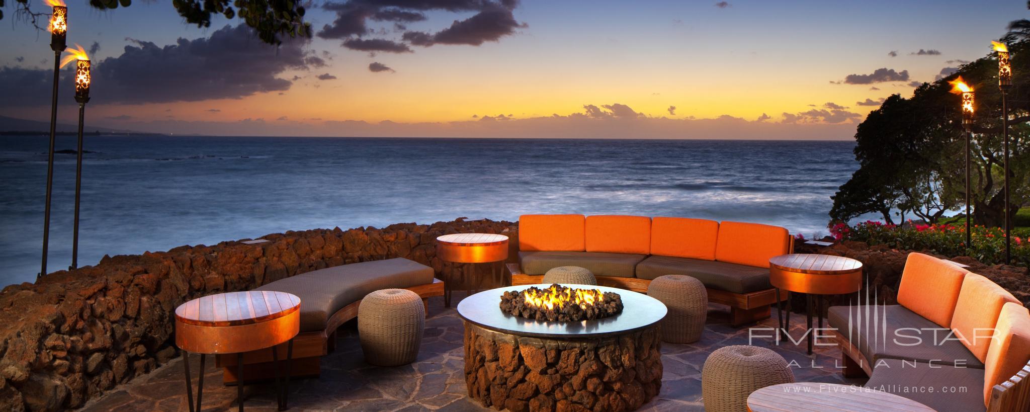 Sunset at Mauna Kea Beach Hotel