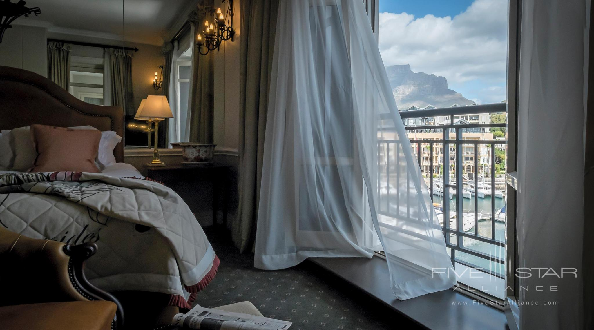 Cape Grace Luxury room with Table Mountain View