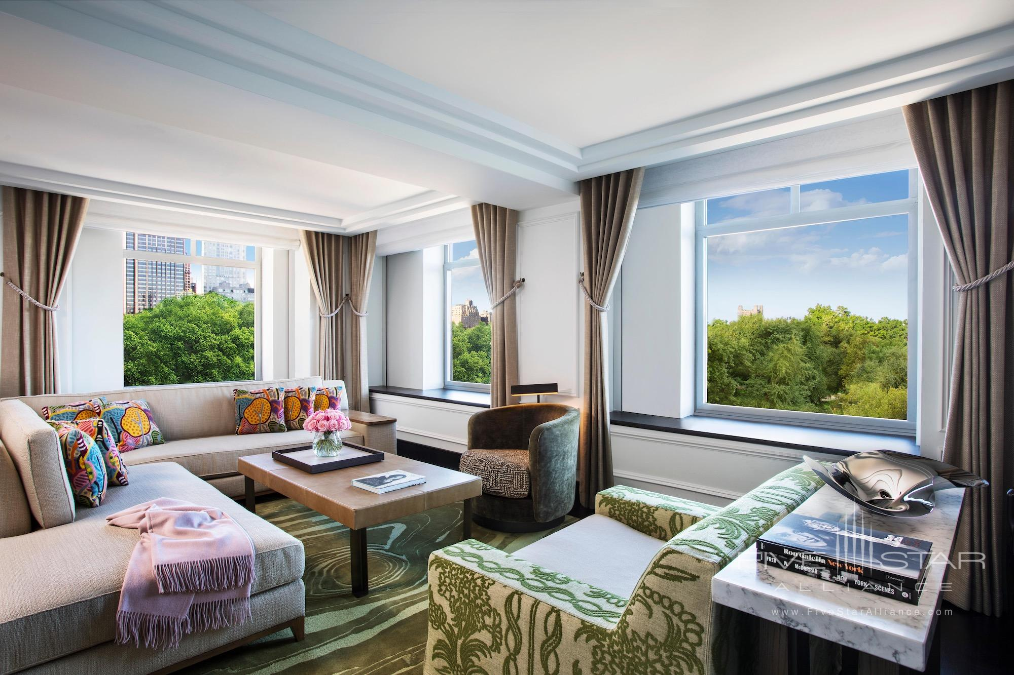 The Ritz-Carlton New York Central Park Presidential Suite