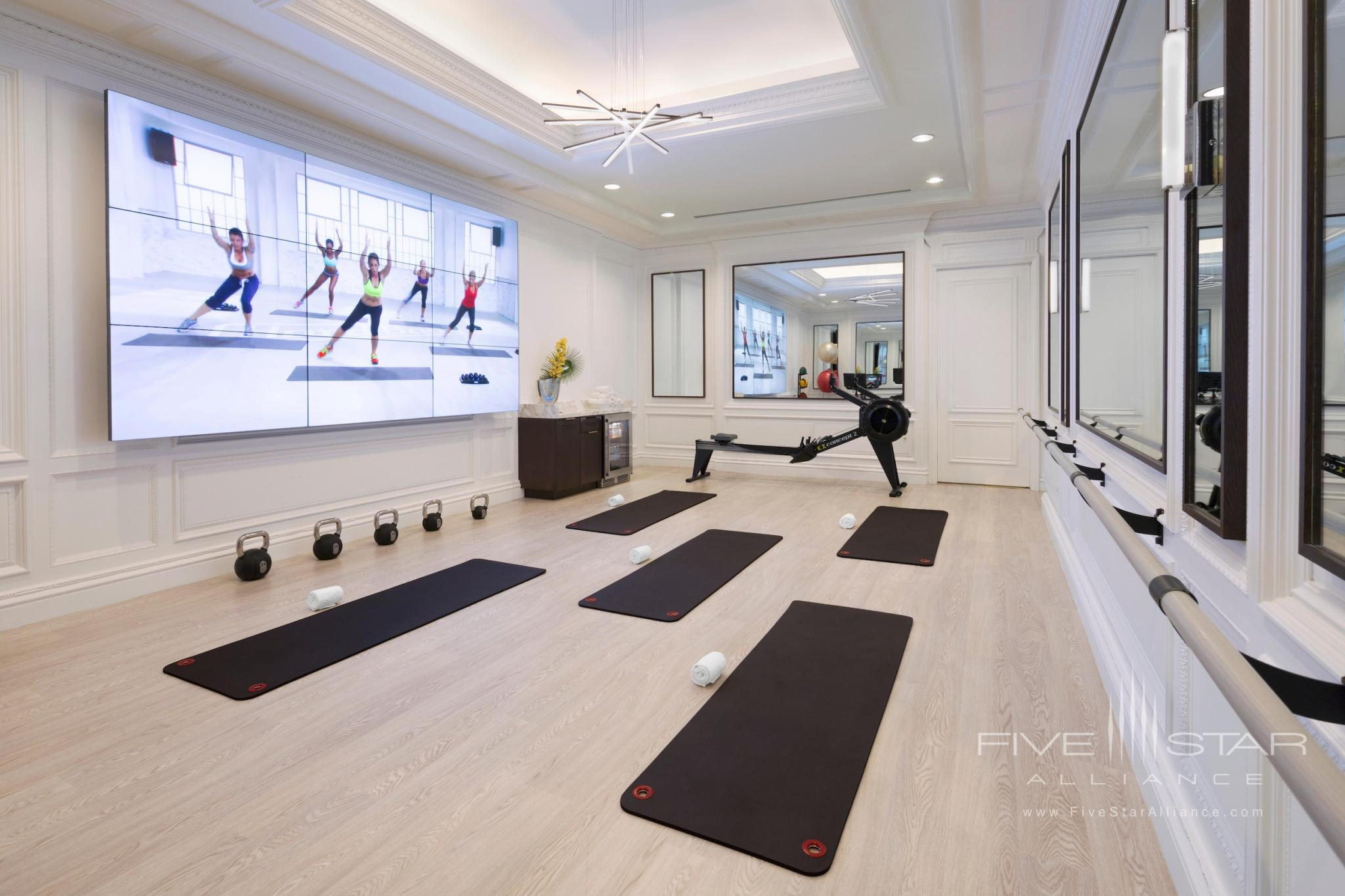 The Ritz-Carlton New York Central Park Movement Studio