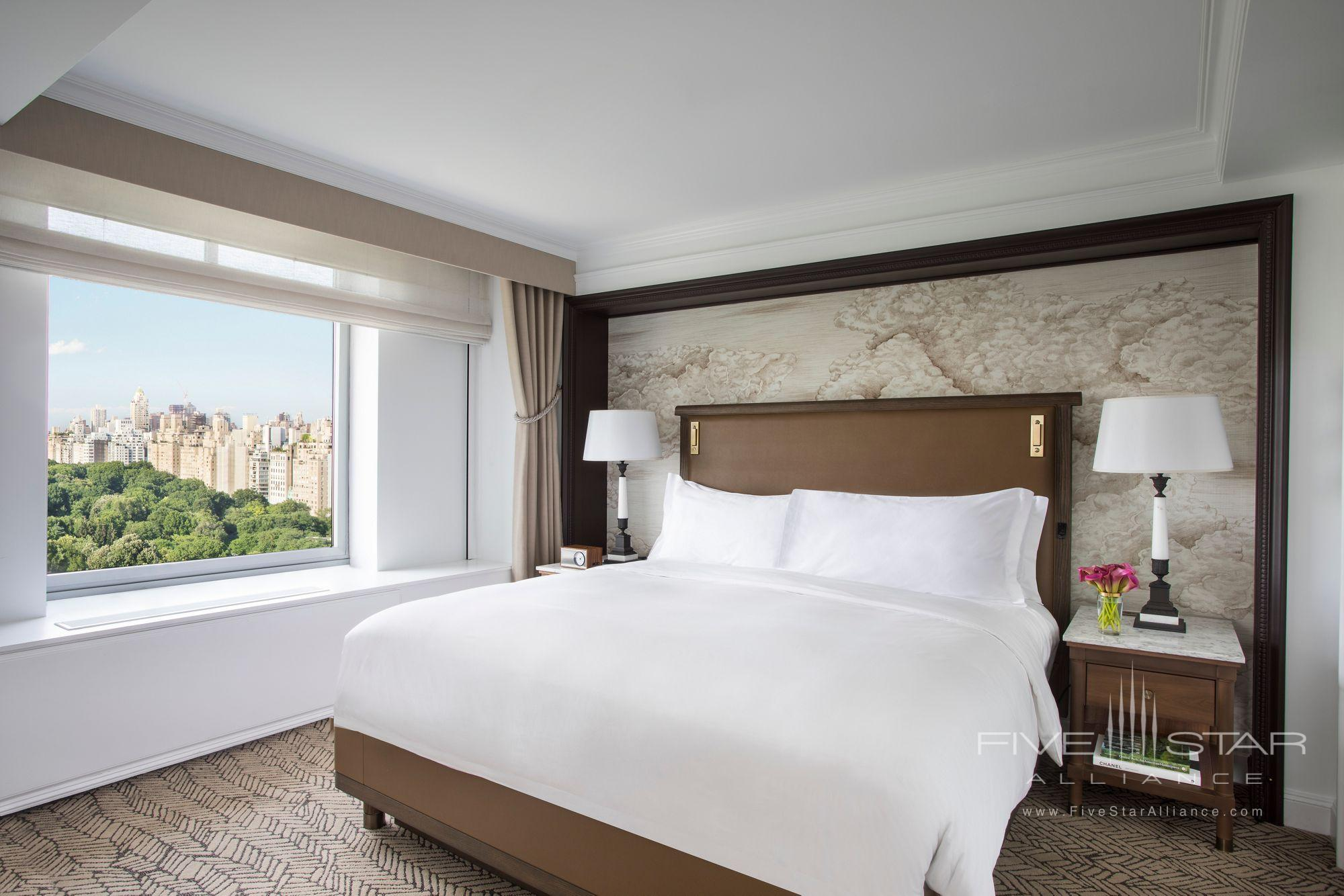 The Ritz-Carlton New York Central Park Premier Park View Suite