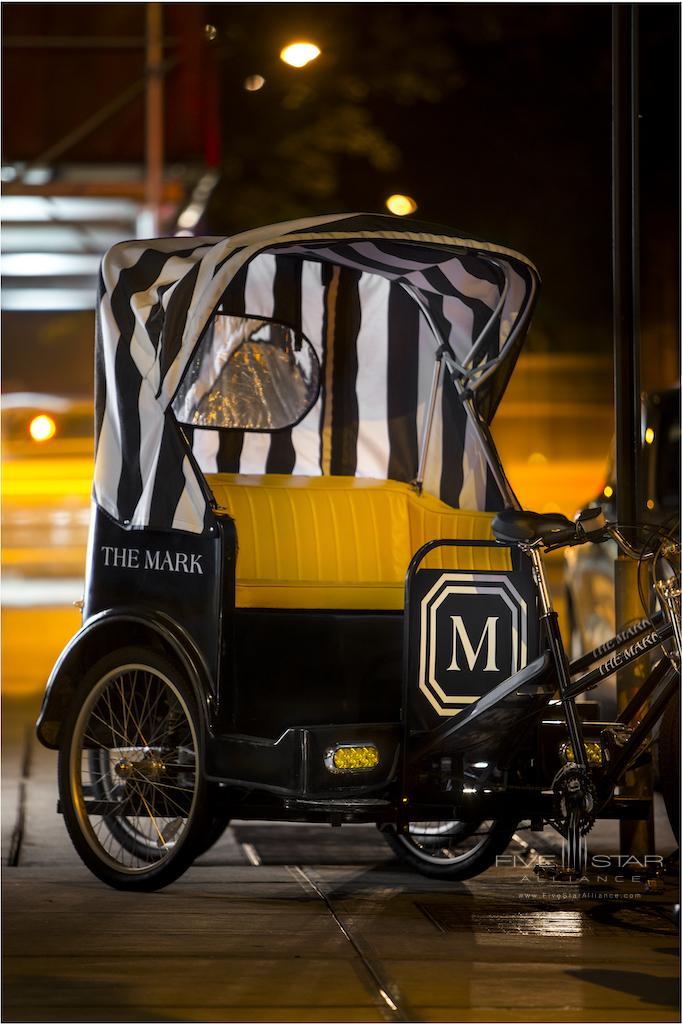 Pedicab at The Mark New York