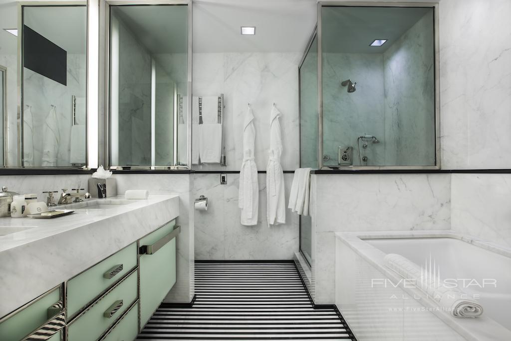 Seventy Seven Junior Suite Bathroom at The Mark New York