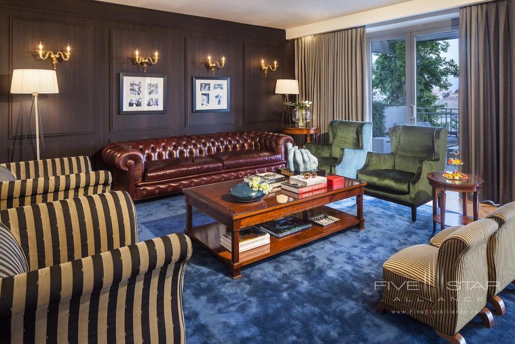 Royal Suite Living Room at David Citadel Hotel Jerusalem