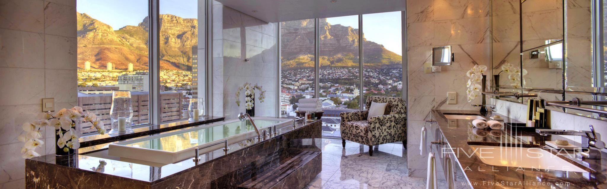 Presidential Suite Bath at Taj Cape Town