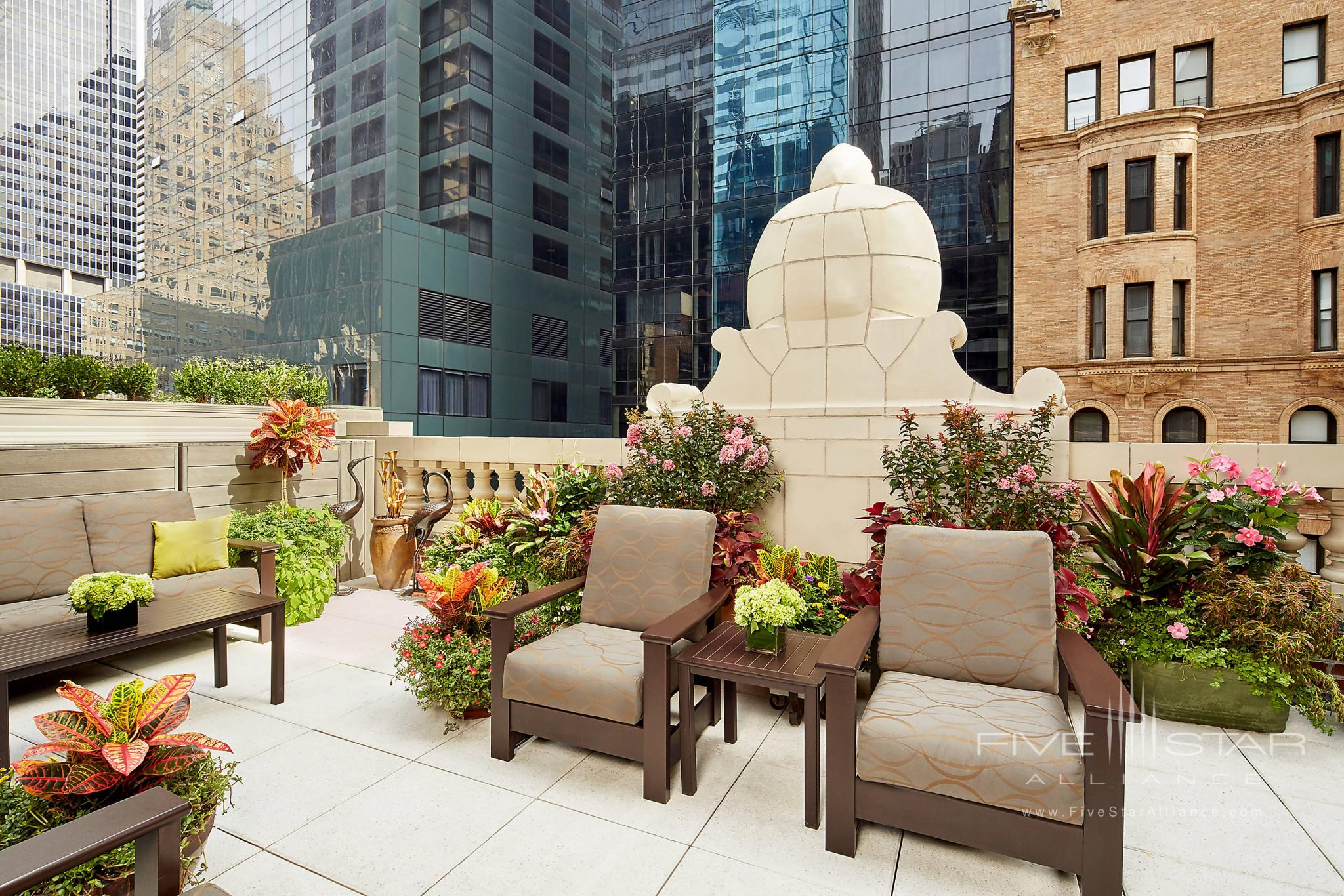 The Chatwal Suite Terrace