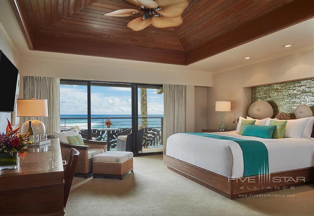 Oceanfront Guest Room at Ko'a Kea Hotel & Resort