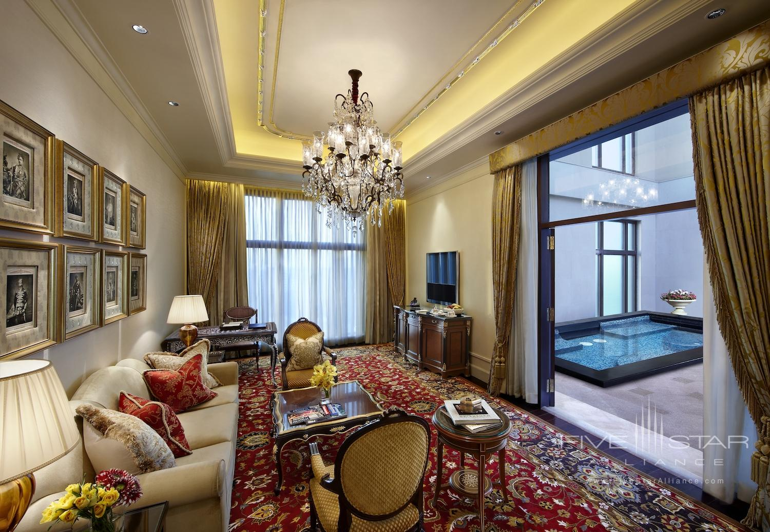 The Royal Suite with Private Plunge Pool at The Leela Palace New Delhi