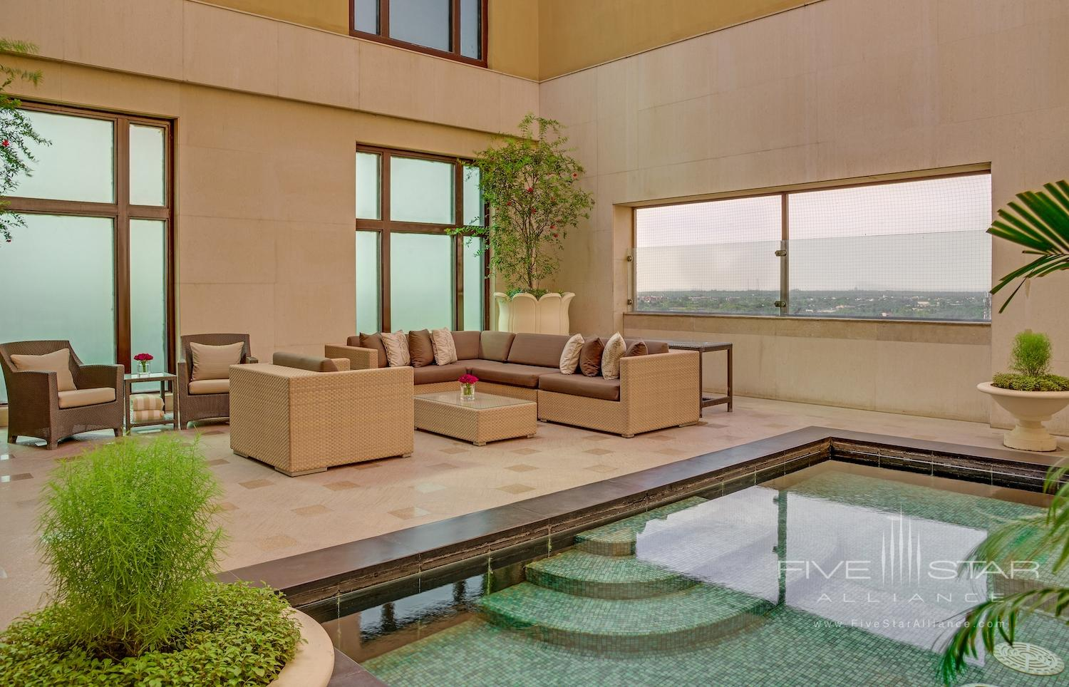 Royal Suite with Plunge Pool at The Leela Palace New Delhi