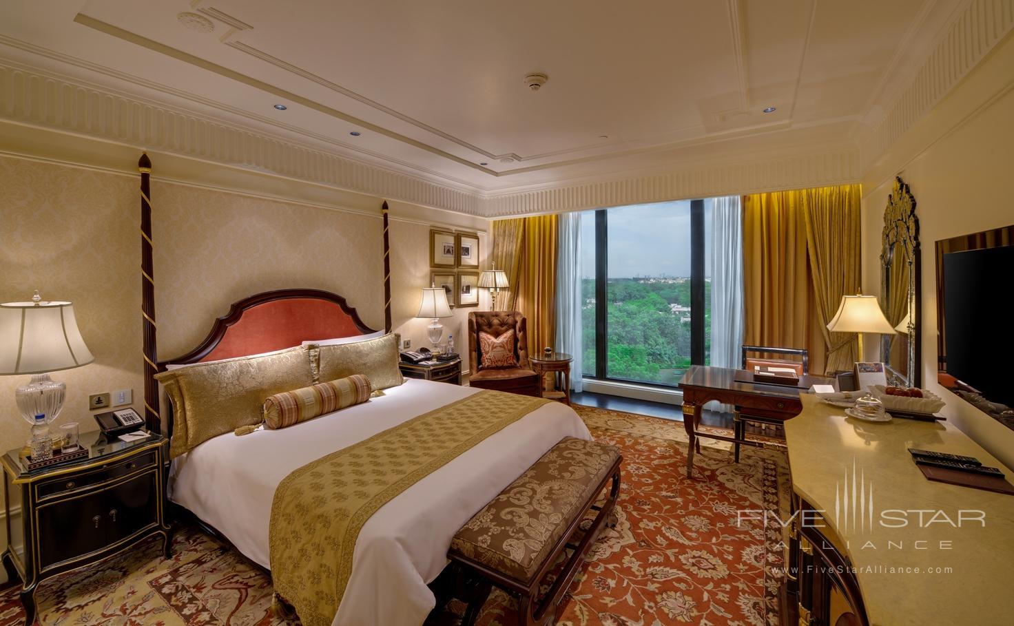 Grand Deluxe Room at Leela Palace New Delhi