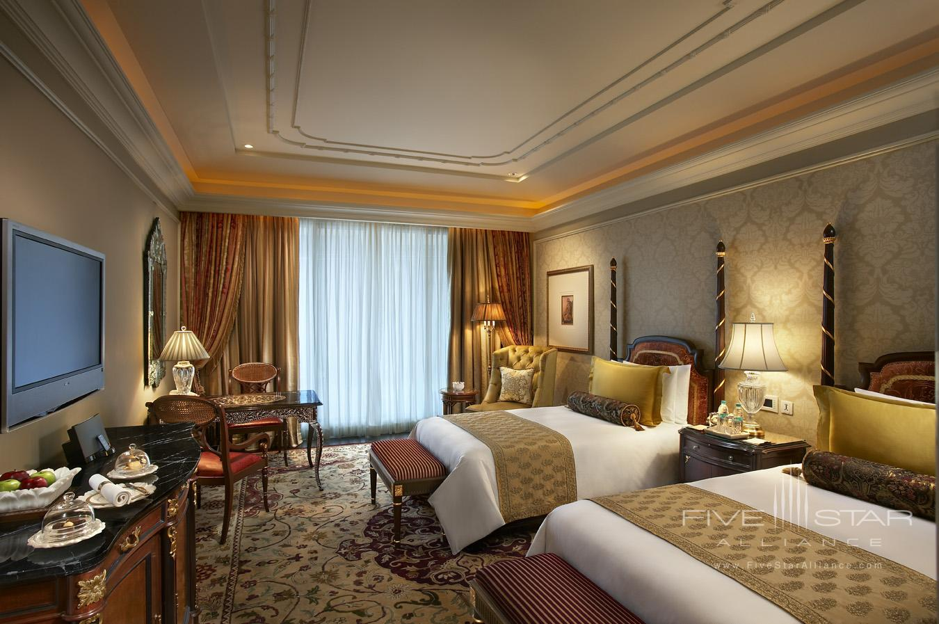 Grand Deluxe Twin Room at Leela Palace New Delhi