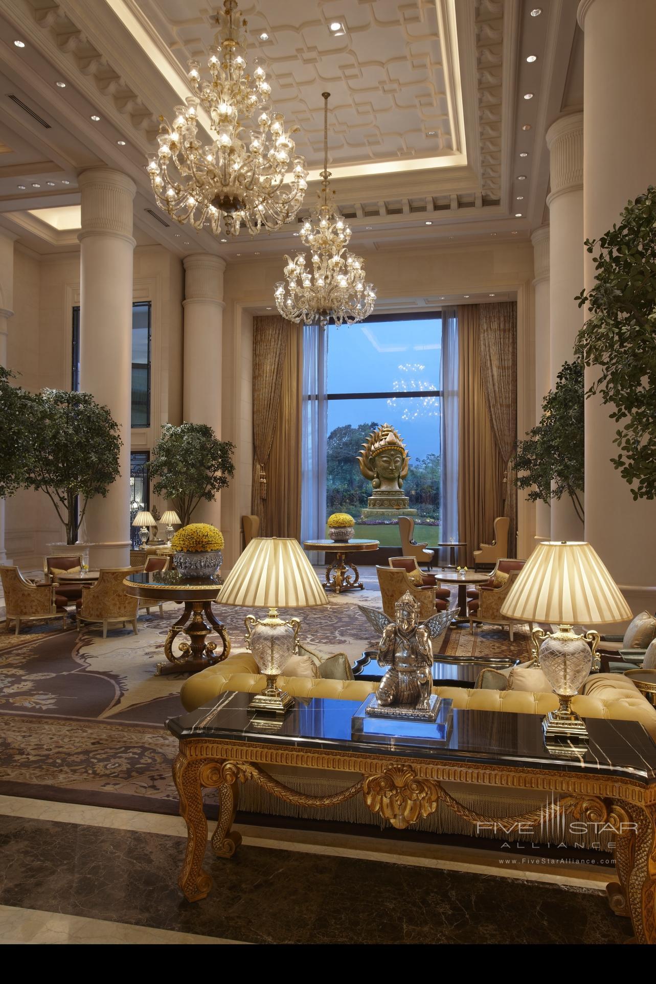 Leela Palace New Delhi Lobby