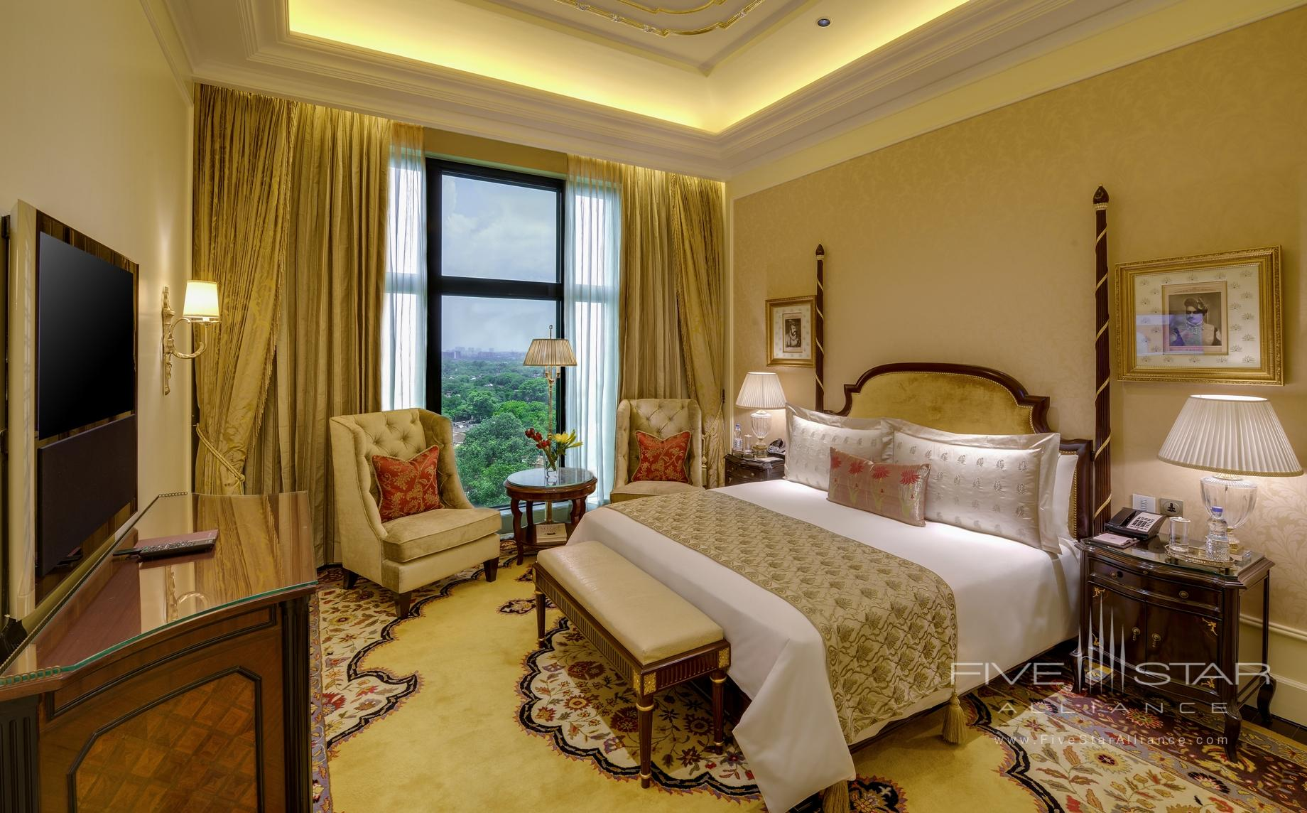 Grand Suite Bedroom at Leela Palace New Delhi