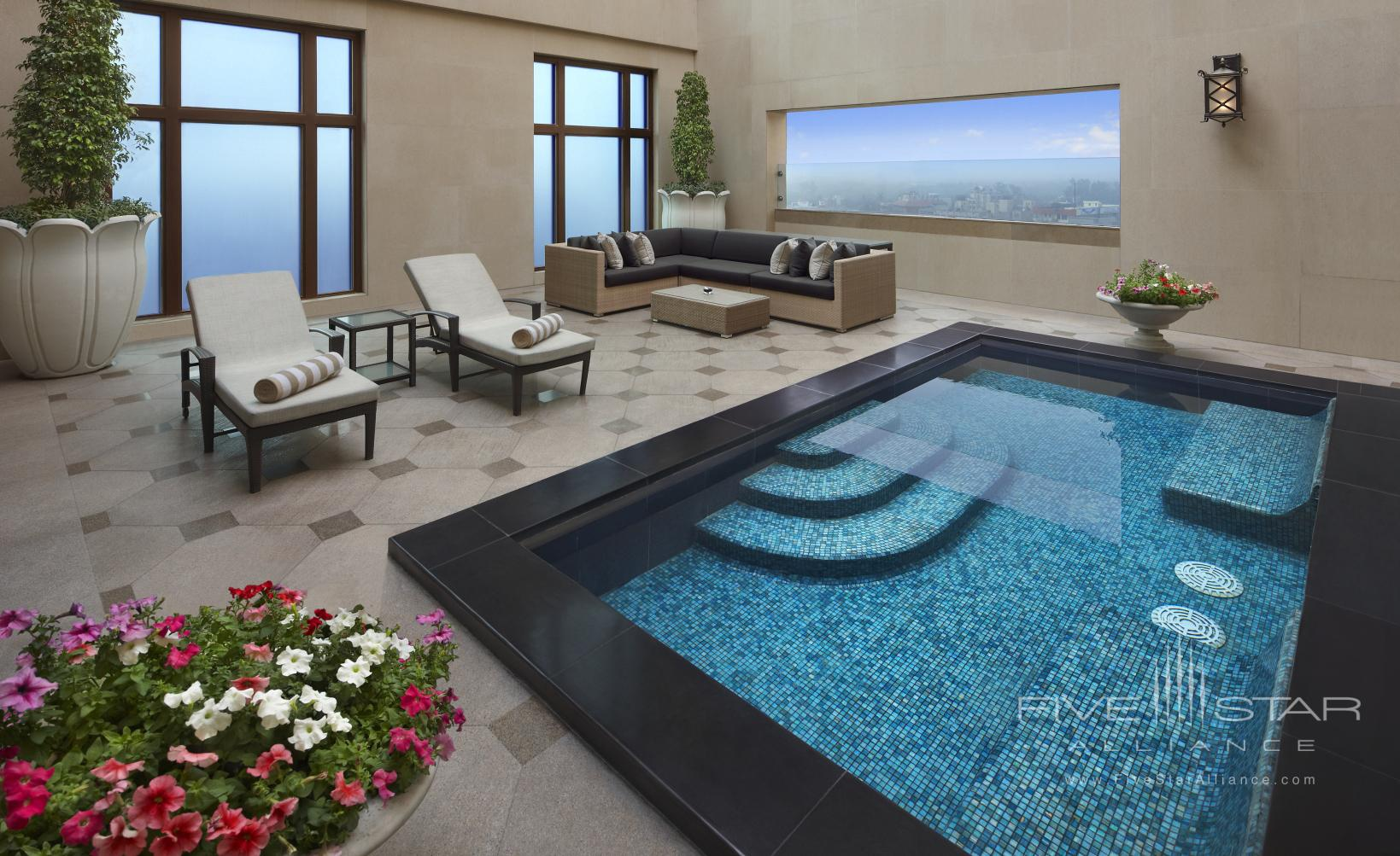 Grand Suite Plunge Pool at Leela Palace New Delhi