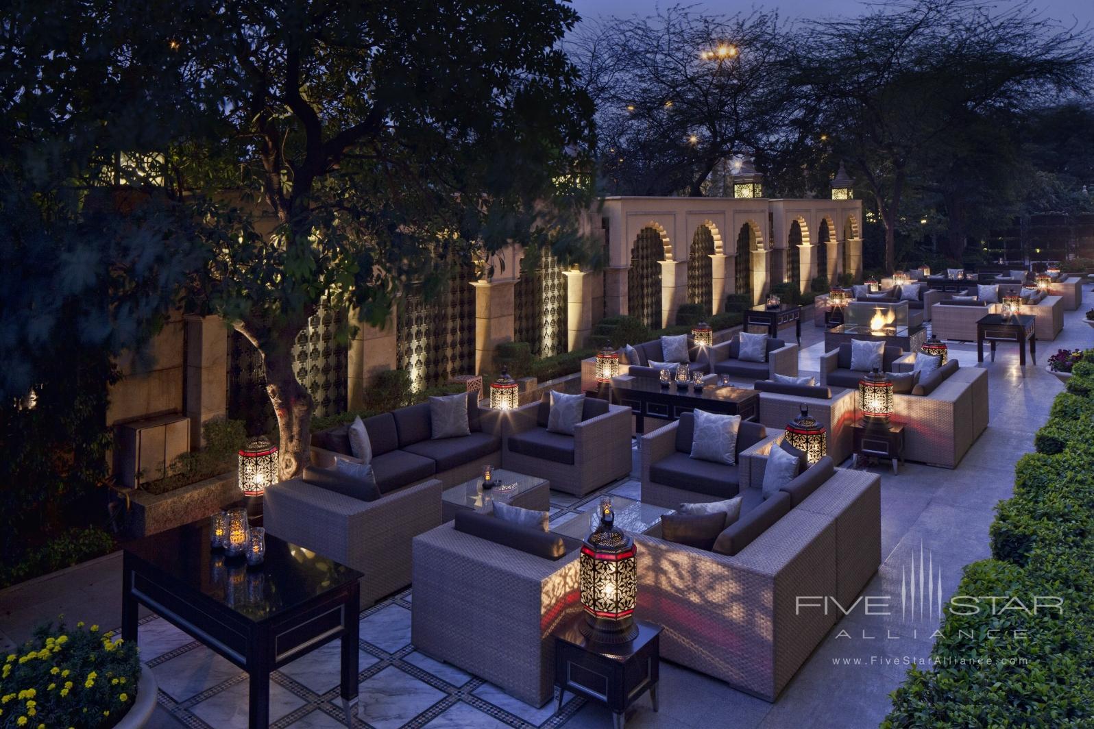 The Library at Leela Palace New Delhi