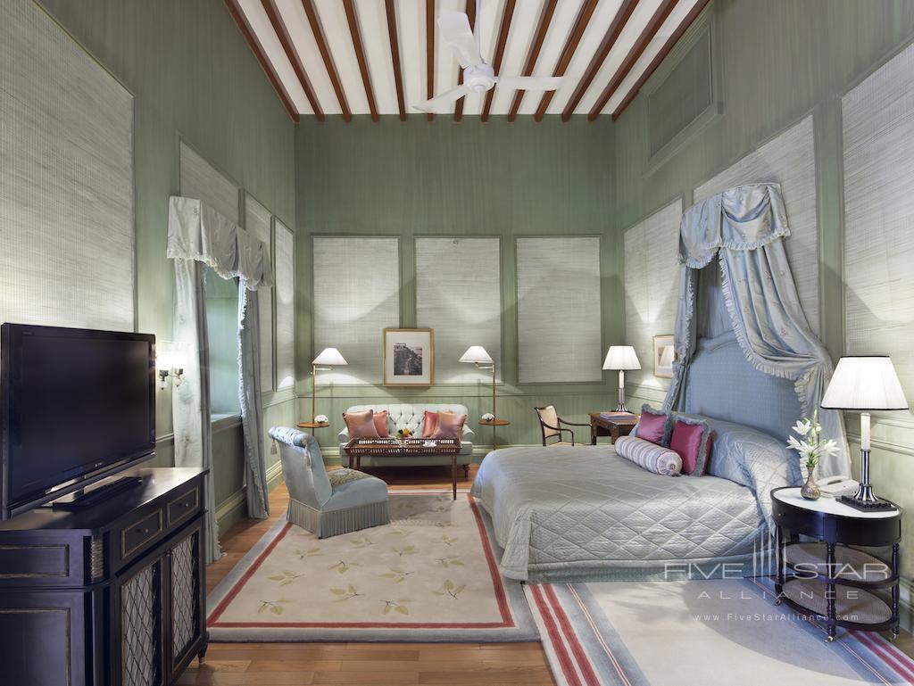 Captivant Green Palace Bedroom At Taj Falaknuma Palae