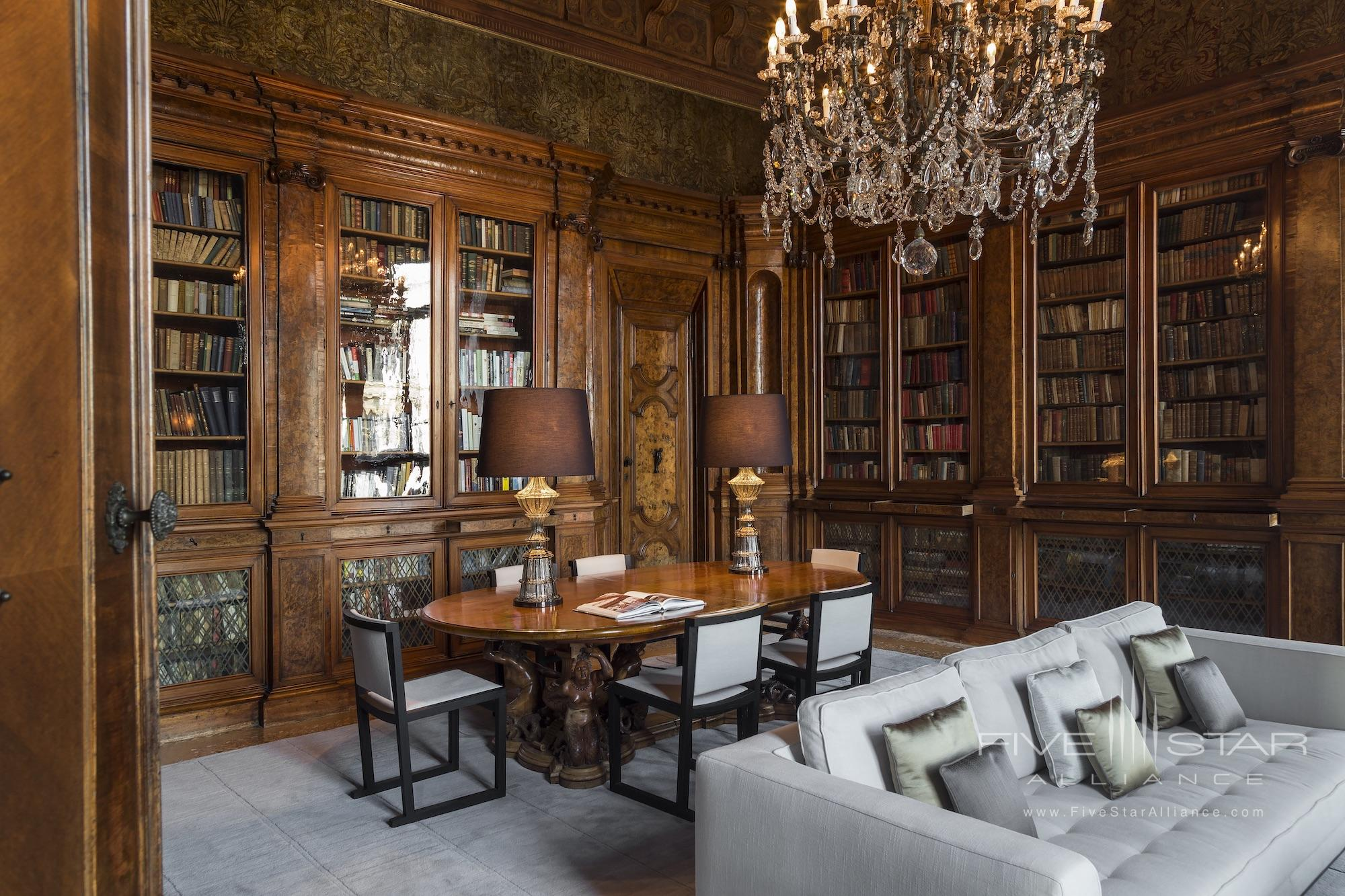 Library at Aman Venice