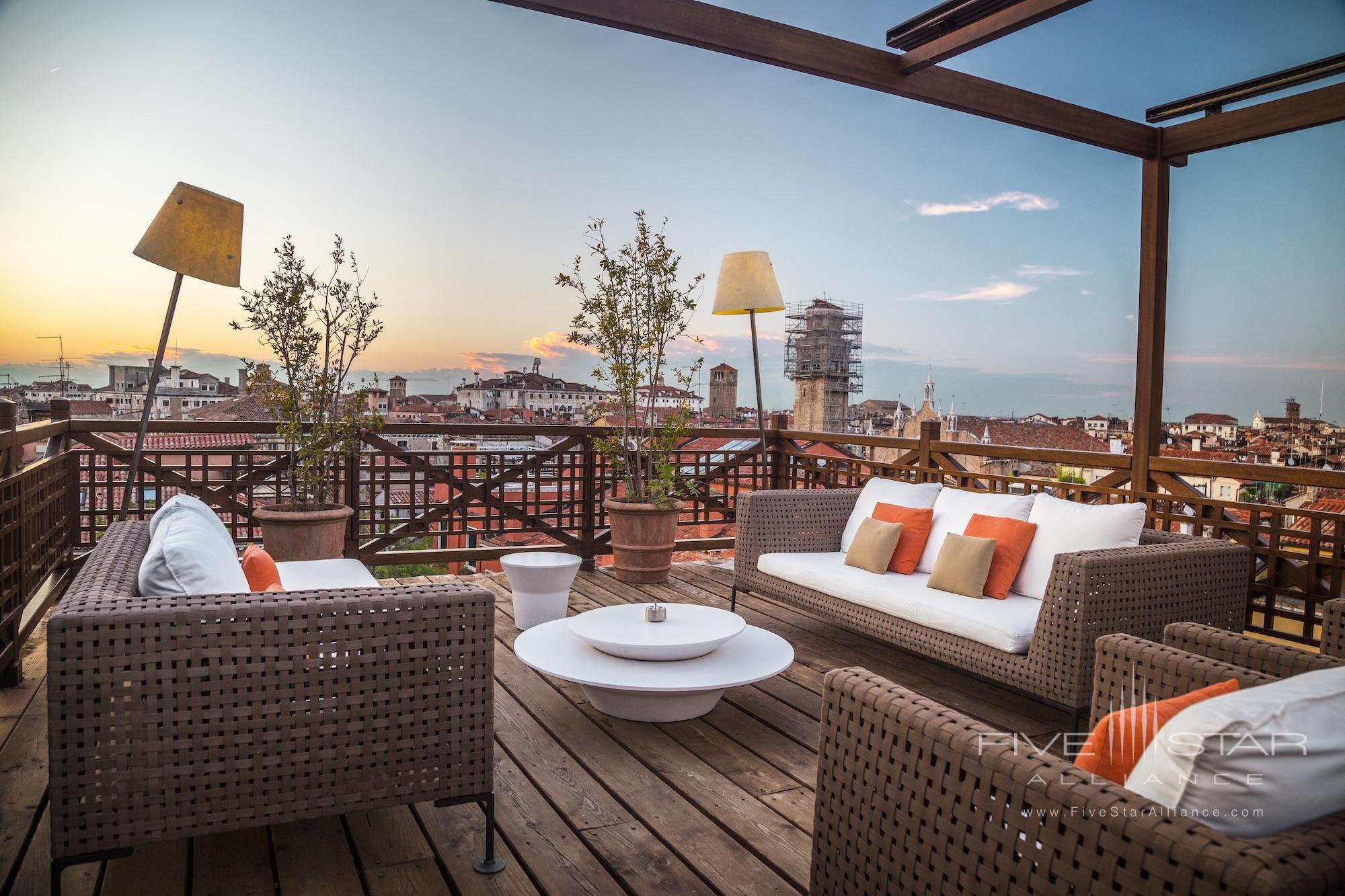 Rooftop Terrace at Aman Venice