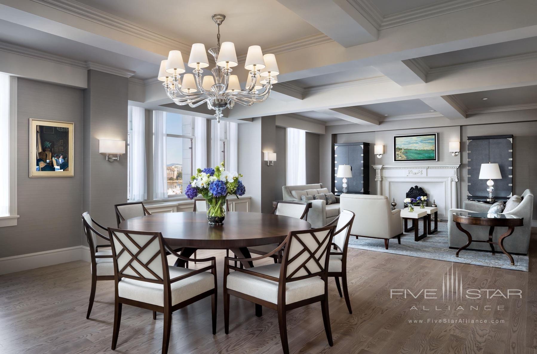 Fairmont Empress Royal Suite Living Room